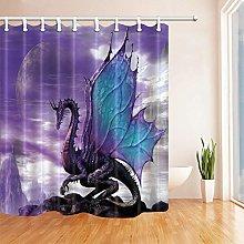 gwregdfbcv Zilongfei bathroom shower curtain