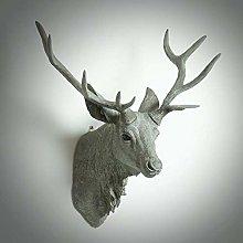 GWZSX Home Decoration Art Sculpture Rhino Head