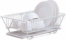 GXK Drainer Rack Dish Basket Storage Utensil Bowl