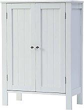 GXK Wooden Cabinet Storage Cupboard Unit 2 Doors