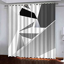 GXLOGA Blackout Curtains for Living Room 3D