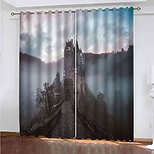 GXLOGA Thermal Blackout Curtains for Bedroom Fairy