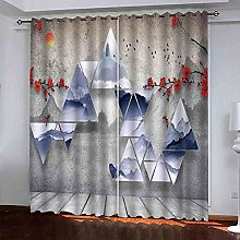 GXLOGA Thermal Blackout Curtains for Bedroom