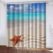 GXLOGA Thermal Insulated Blackout Curtains for