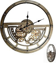 GXM-LZ 65cm Industrial Wall Clock with Rotating