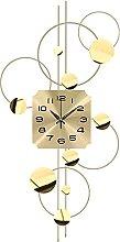 GXM-LZ Large Decorative Wall Clock,Wrought Iron