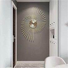 GXM-LZ Large Modern Decorative Wall Clock,Wrought