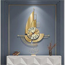 GXM-LZ Large Modern Wall Clock,Wrought Iron