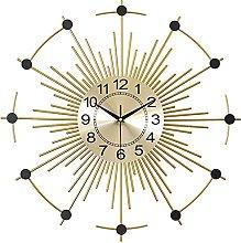 GXM-LZ Modern Round Metal Wall Clocks,Wall art