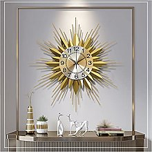 GXM-LZ Round Gold Wrought Iron Wall