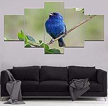 Gxucoa Modern Decoration Artwork 5 Pieces Canvas