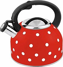 GXY 2.5L Whistling Kettle Color Dot Paint Water