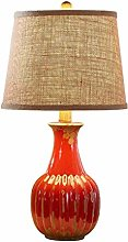 GXY Bedside Table Lamp American Style Retro Small