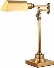 GXY Light for Bedrooms Antique Copper Table Lamp
