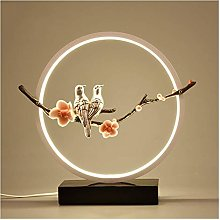 GXY Light for Bedrooms Circle Dimmable Led Table