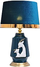 GXY Light for Bedrooms Modern Hand Painted Deer