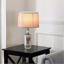GXY Light for Bedrooms Transparent Art Glass Table