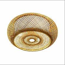 GXY Loft Ceiling Lights Bamboo Woven,Handmade