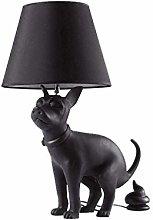 GXY Loft Puppy Table Lamp Modern Resin Proud Dog