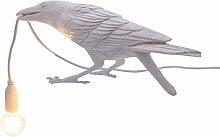 GXY Vivid Bird Wall Lamp Raven Desk Light Modern