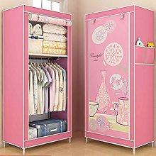 GYAM Fabric Wardrobe, Portable Simple Wardrobe,