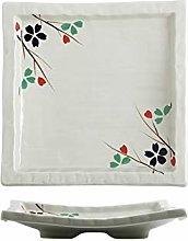 GYHJG Tableware Plate Ceramic Dinner Plate Sushi