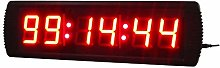 Gym Timer Industrial Warehouse Cafeteria Gym Clock