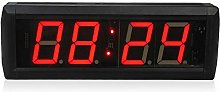 Gym Timer Remote Control Digital Led Wall Clock