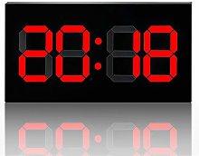 Gym Timer Remote Control Digital Led Wall