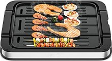 GYMAX Electric Grill, 2-in-1 Reversible Grill and