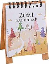 GYMNASTIKA 2021 Small Desk Calendar - Mini Cartoon