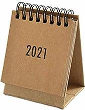 GYMNASTIKA 2021 Small Desk Calendar - Mini Table