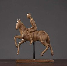 Gymqian Ashtray Knight Horse. Resin Decoration