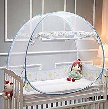 Gymqian Baby Crib Safety Pop up Tent Premium Baby