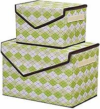Gymqian Beautyhe Storage Box with Lid Toy Storage