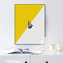 Gymqian Canvas Painting Abstract Diving Posture