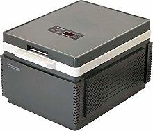 Gymqian Car Refrigerator-12L Silent Dual-Core Mini