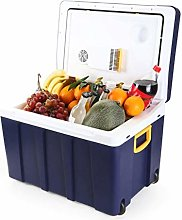Gymqian Car Refrigerator-50L Mini Fridge Cooler