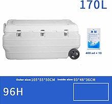 Gymqian Car Refrigerator-Cooler Box 170L Deep
