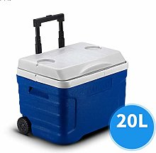 Gymqian Car Refrigerator-Cooler Box Large Wheeled