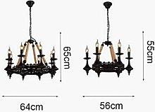 Gymqian Ceiling Light Lighting Vintage Chandelier