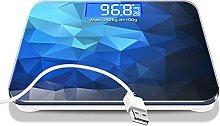 Gymqian Charging Electronic Weighing Scale, Home