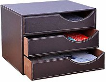 Gymqian Desk Organiser Compartments File Organizer