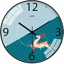Gymqian Fashion Wall Clock Wall Clock for Kids,12