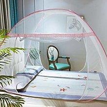 Gymqian Folding Mosquito Net Portable Pop up Tent