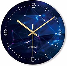 Gymqian Just Now Creative Wall Clock Color 3D