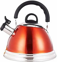 Gymqian Kettle 304 Stainless Steel Whistling