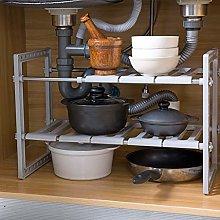 Gymqian Kitchen Accessories Grey Under Sink