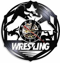 Gymqian Wall Clock Westerus Fight for Freestyle