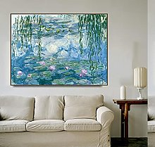 Gymqian Water Lilies by Monet Posters and Print